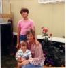 Mum, Lorraine and I