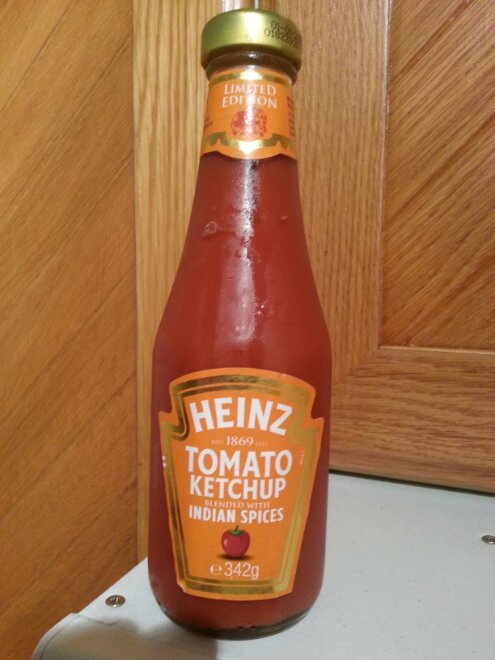 Heinz Limited Edition Tomato Ketchup Blended With Indian Spices