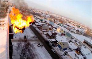 Alexander Chernikov fire