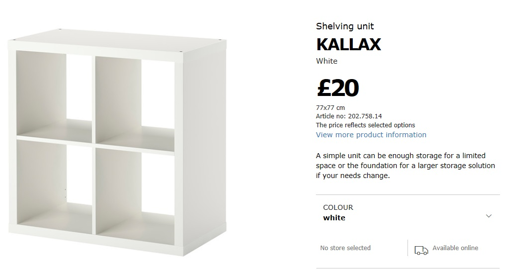 Kallax Breakfast Bar – Ikea Hack   The Antikrish